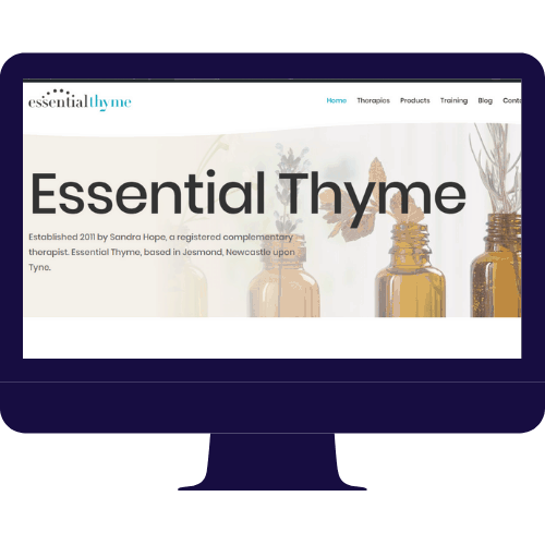 web design essential thyme