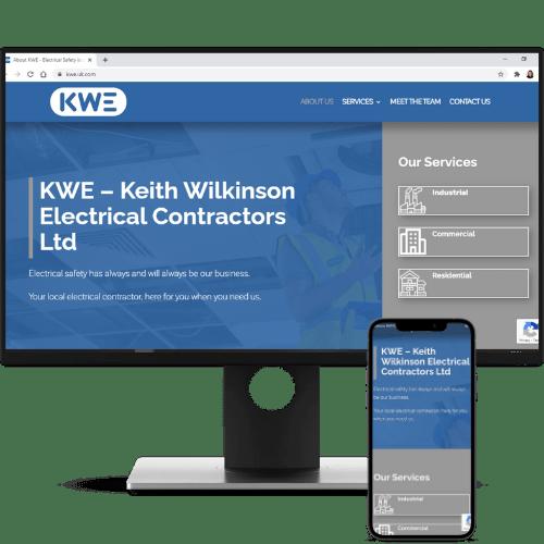 website design KWE