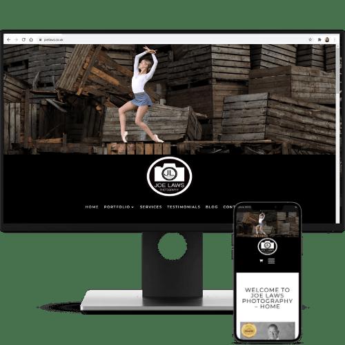 website design joe laws photography